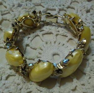 Vintage BSK Costume Jewelry Bracelet